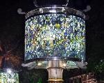 Độc đáo cặp đèn pháp lam tại Festival Nghề truyền Huế 2013