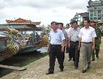 UBND tỉnh kiểm tra môi trường phát triển du lịch