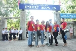 Đoàn đại biểu SSEAYP Việt Nam tổ chức dự án cộng đồng 'Tay sạch tay xinh' ở Phú Đa.
