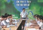 Kiểm tra công trình hồ Tả Trạch trước mùa mưa bão