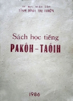 Dạy tiếng dân tộc PaCô- TàÔi và CơTu cho học sinh miền núi từ 2014
