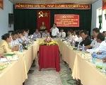 Trung tâm y tế Phú Vang làm việc với đoàn cán bộ y tế tỉnh Salavan.