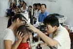 Dịch đau mắt đỏ bùng phát mạnh ở Huế.