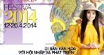 Nhiều sự kiện quốc tế được tổ chức tại festival Huế 2014