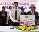 Vietnam Airlines - nhà vận chuyển chính thức cho Festival Huế 2014.