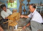 """Thừa Thiên Huế: Làng nghề mây tre đan Bao La tích cực chuẩn bị tham gia  Festival Huế và lễ hội """"Sóng nước Tam Giang""""."""