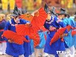 Đến Lễ hội Lam Kinh hòa mình trong múa dân gian trò Xuân Phả