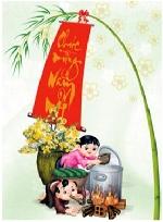 Lan man Tết Huế