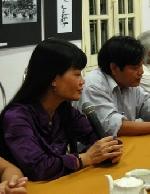 Nhà văn Võ Thị Xuân Hà giao lưu với các cây bút trẻ Huế