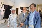 Khai mạc không gian trưng bày các sản phẩm nghề thủ công truyền thống Việt Nam, thành phố Gyeongju và trang phục Kimono
