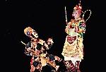 Tề Thiên Đại Thánh và hộ pháp trong vũ khúc cung đình Đấu Chiến Thắng Phật