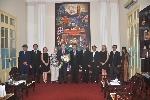 Đại sứ Australia tại Việt Nam thăm và làm việc tại Đại học Huế