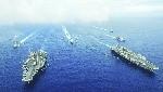 """5 nước tập trận Biển Đông """"dằn mặt"""" Trung Quốc"""