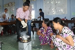 Hội thảo về chuyển đổi rơm rạ thành nhiên liệu đun nấu
