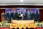 Công bố tập 1 tác phẩm Hồ Chí Minh toàn tập bằng tiếng Lào