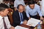 Thủ tướng dự lễ phát hành đặc biệt bộ tem bưu chính Đại tướng Võ Nguyên Giáp
