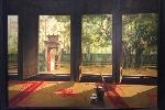 Họa sĩ Lê Như Hà: Thanh thản trong những ngôi chùa cũ