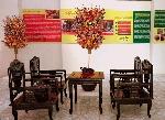 Trưng bày Tết Huế qua một số làng nghề truyền thống.