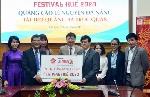 DN Lê Nguyễn tài trợ quảng bá trực quang cho Festival Huế 2020