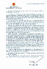 Chủ tịch UBND tỉnh Phan Ngọc Thọ gửi thư chia sẻ, động viên nhân dân trong mùa dịch Covid – 19.