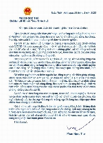 Chủ tịch UBND tỉnh Phan Ngọc Thọ gửi thư kêu gọi chính quyền, người dân và doanh nghiệp cùng đồng hành chống COVID - 19