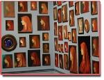 Hơn 300 bức tranh mô tả duy nhất một người phụ nữ