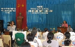 Khai mạc Trại sáng tác VHNT Thanh Tân 2009