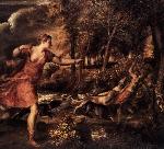 """Bức họa """"Cái chết của Actaeon"""" và sự chìm nổi của số phận"""