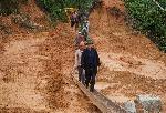 Bí thư Tỉnh ủy Lê Trường Lưu thị sát, chỉ đạo công tác tìm kiếm, cứu nạn cứu hộ tại thủy điện Rào Trăng 3