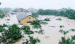 Trong cơn lũ lụt tháng 10 năm 2020 ở Huế