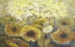 108 bức tranh hoa sen tri ân người hướng tâm đến Phật pháp