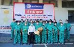 Đoàn thầy thuốc Bệnh viện Trung ương Huế lên đường đến Bắc Giang hỗ trợ chống dịch