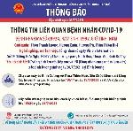 Thừa Thiên Huế, ghi nhận thêm 1 ca dương tính với SARS-CoV-2.