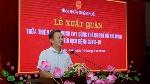 Lễ xuất quân đoàn cán bộ Y tế tỉnh Thừa Thiên Huế  vào hỗ trợ miền Nam chống dịch COVID-19.