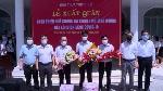 Lễ xuất quân của Đoàn cán bộ ngành Y tế tỉnh Thừa Thiên Huế hỗ trợ tỉnh Bình Dương phòng, chống dịch