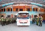 Công an tỉnh Thừa Thiên Huế hỗ trợ trang thiết bị chống dịch đến Công an các tỉnh phía nam