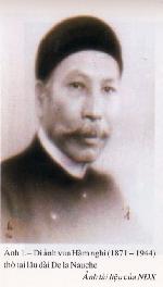 Vua Hàm Nghi - một họa sĩ