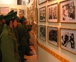 """Khai mạc triển lãm chuyên đề """" Chủ tịch Hồ Chí Minh với các lực lượng vũ trang nhân dân"""""""