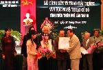 Trao giải thưởng Văn học nghệ thuật Cố đô lần thứ IV