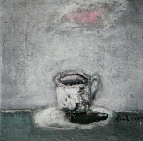 Ly cà phê buổi sáng