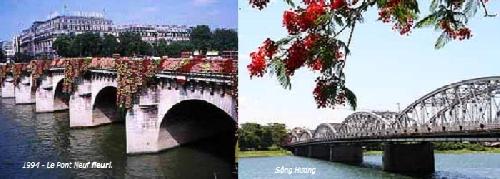 Tình khúc sông Hương và sông Seine