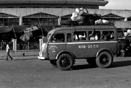 Đi xe đò ngày xưa