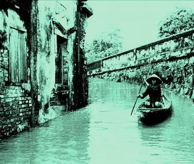 Thú lội lụt ở Huế