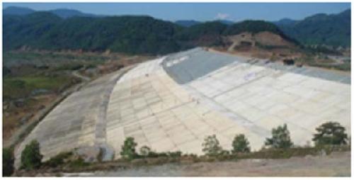 Yêu cầu xử lý vết nứt tại đập hồ chứa nước Tả Trạch
