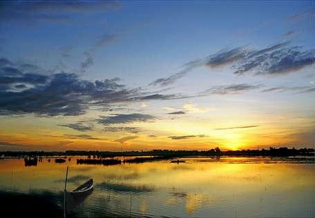Cồn Tè - điểm du lịch sinh thái mới lạ của Huế