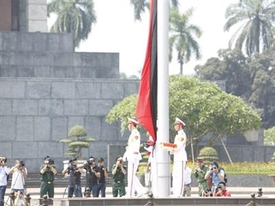 Cả nước chính thức để tang Đại tướng Võ Nguyên Giáp.
