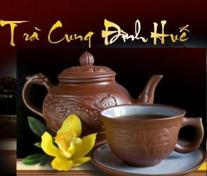 Thưởng thức trà cung đình Huế- Nét đẹp của mảnh đất Di sản