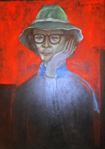 Triển lãm tranh Đinh Cường và Phan Ngọc Minh tại Gác Trịnh.