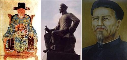 Ba thi hào họ Nguyễn cùng chung một dòng máu: Nguyễn Trãi - Nguyễn Du - Nguyễn Đình Chiểu