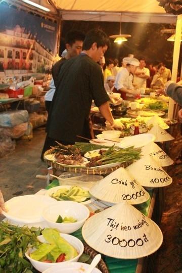 Liên hoan Ẩm thực Quốc tế-Huế 2014 đã diễn ra